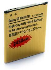 Bateria GOLD Samsung GALAXY S3 MINI i8190 / Ace i8160 -ALTA CAPACIDAD- 2450mAh