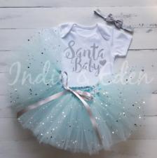 Chaleco traje de Navidad Bebé Tutu Conjunto Santa Chicas Bebé Foto Prop Pastel Smash