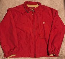 Vintage Tommy Hilfiger Reversible Jacket Coat XL 90s Urban Fashion Warm Rare