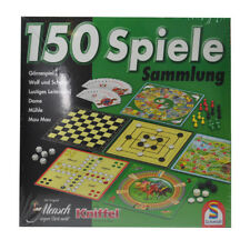Spielesammlung 150 Spiele von Schmidt - Mensch ärgere Dich nicht Mühle