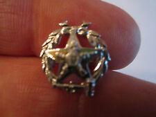 "10K Top Eastern Star Masonic Lapel Pin - 5/8"" Long - Tub Bba-2"