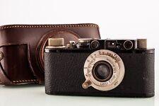 Leica II schwarz + Leitz Elmar 3,5/50mm Nickel Bj.1932  SHP 68333