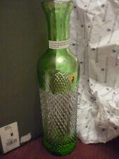 WATERFORD Alana Prestige decanter GREEN  NIB!!  Perfect!!