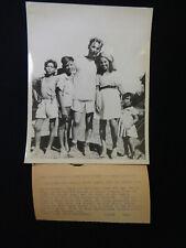 WW2 Original ACME Telephoto RAID AT CABANATUAN POW Survivor BATAAN DEATH MARCH
