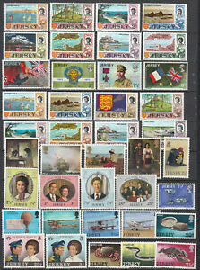 Jersey - small stamp lot-1 - MNH     Include complete sets!  (7075)