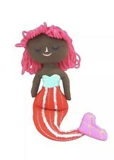 NWT Spritz Plush Decor Mermaids Sequins Girls Room Shelf Sitter Figures