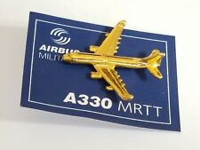 A330 Airbus Military Jet Airliner Pin / Gold Color / NEW