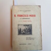 """Luigi da Portomaurizio Francesco Maria da Camporosso detto il """"Padre Santo"""" 1931"""