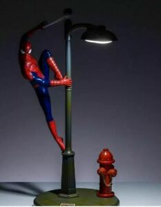 SPIDERMAN LAMP Bedroom,Bedside Lamp Night Light,Official Licenced