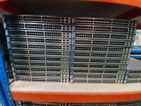 CISCO CATALYST 3750 WS-C3750-48PS-S 48 PORT PoE SWITCH LAB CCNA CCNP CCIE
