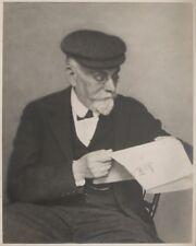 c1920 Portrait de ALBERT CIM écrivain né à Bar-le-Duc tirage argentique MEUSE