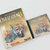 1998 Civilization II: Multiplayer Gold Edition - Mac - Game Strategy Guide EUC!