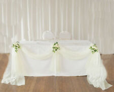 Top Table Decoration Kit Wedding Party Bows Swags Flowers Personalised Bargain