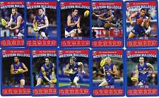 2010 TeamCoach WESTERN BULLDOGS Team Set Captain & Check List