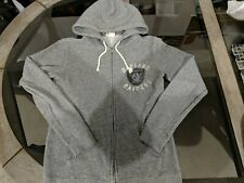 Oakland Raiders junk food Full Zip Sweatshirt With Hood Silver and Black Awesome