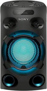 SONY MHC-V02 Party Lautsprecher Karaoke Anlage CD Bluetooth USB B-WARE