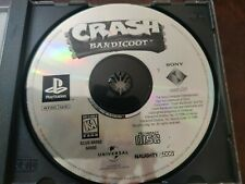 Crash Bandicoot (PlayStation 1, 1996) Disc Only