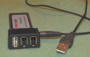 Expresscard/34 USB 2.0 Firewire 1394A Combo