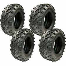 New Tg TyreGuider Set 4 Atv Tires (2) 25x10-12 Rear (2) 25x8-12 Front 6Pr Mud
