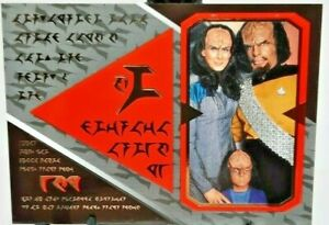 1995 SkyBox Star Trek The Next Generation Season 2 Klingon Cards #S13