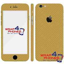 Textured Carbon Wood Chrome Gloss Skin Wrap Sticker Decal Case Cover All/iPhone