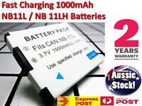 New NB11LH NB-11L Battery for Canon Digital IXUS 175 180 185 190 OZ
