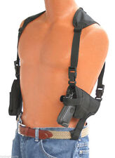 Shoulder holster With Double Magazine Pouch For Glock 17,19,22,25,31,32,33,38
