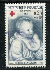 STAMP / TIMBRE FRANCE OBLITERE N° 1466 CROIX ROUGE / RENOIR