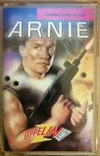 COMMODORE 64 ARNIE ZEPPELIN GAMES SCHWARTZENEGGER CHRIS BUTLER 1992 C64