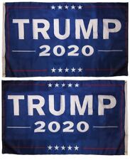 3x5 Trump 2020 Blue 150D Woven Poly Nylon Double Sided 2ply Flag 5x3 Banner
