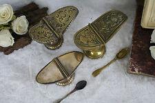 Set of 3 vtg Religious incense burner brass 1950's