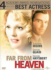 Far From Heaven (ONE CENT DVD, 2003, WIDESCREEN) MOORE QUAID HAYSBERT
