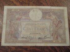 cent francs luc olivier merson fx. 30-3-1939. fx