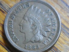 1863 Indian Head Cent (seller's # 328)