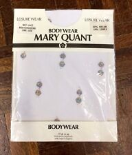 New And Unopened Mary Quant Silver Polka Dot Bodystocking