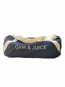Gym & Juice Workout Overnight Bag By Private Party Blue Denim FabFitFun New Yoga