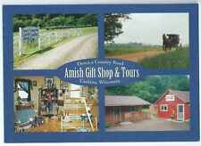 Down A Country Road Gift Shop, Amish Tours, Cashton, WI, Unposted- Postcard