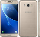 "New Samsung Galaxy J7(2016) GOLD SIM FREE 5.5"" 16GB DUAL SIM Smartphone 4G LTE"