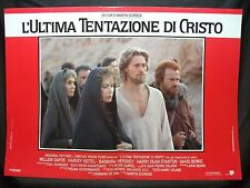 FOTOBUSTA CINEMA - L'ULTIMA TENTAZIONE DI CRISTO - W. DAFOE - 1988 -RELIGIOSO-06
