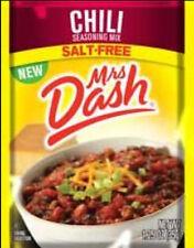 Mrs. Dash Seasoning Mix, Chili, 1.25 Ounce (Pack of 6)