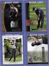 2001 Upper Deck Sergio Garcia 4 Card Rookie Set #2 in Near Mint Condition