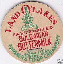 MILK BOTTLE CAP. FARMERS CO-OP CREAMERY CO. ROSEAU, MN. DAIRY