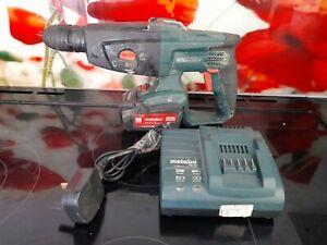 Metabo KHA 18 LTX 18v Cordless Hammer SDS Drill perfect working order