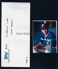 John Cerutti Blue Jays 1991 Topps Stadium Club Original Unused Photo & Env Vault