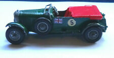 1929 Bentley 4.5 Litre die cast toy car made in England by Lesney