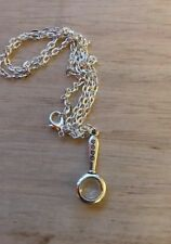 Mini Magnifying Glass Pendant Charm NECKLACE SHERLOCK INSPIRED