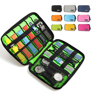 Portable Watch Strap Band Storage Pouch Travel Case For Apple Watch Band Samsung