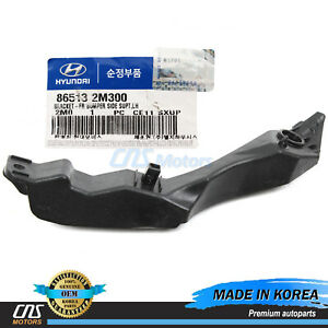 GENUINE Bumper Bracket FRONT DRIVER for 13-16 Genesis Coupe OEM 865132M300⭐⭐⭐⭐⭐