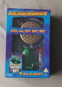 Thunderbirds DVD and Toy Gift Set - Includes T1 T2 T3 T4 T5 + Map (2004)