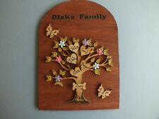 Family Tree personalised Dome Shape gift present